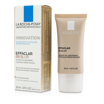 La Roche Posay Krem tonujący na dzień Effaclar BB Blur - #Light/ Medium Shade  30ml/1.01oz