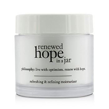 פילוסופי Renewed Hope In A Jar All-Day Skin-Renewing Moisturizer - תחליב לחות לחידוש העור  60ml/2oz