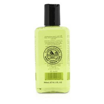 Crabtree & Evelyn West Indian Lime Hair & Body Wash  300ml/10.1oz