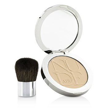 Christian Dior Diorskin Nude Air Healthy Glow Invisible Powder (With Kabuki Brush) - # 020 Light Beige  10g/0.35oz