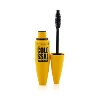 Maybelline Volum' Express The Colossal 100% Black Mascara מסקרה  10.7ml/0.36oz