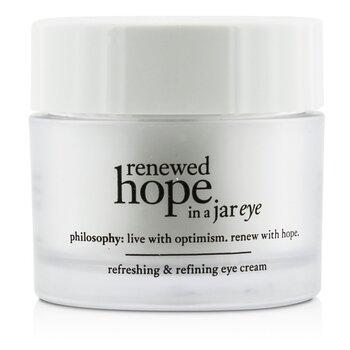 פילוסופי Renewed Hope In a Jar Refreshing & Refining Eye Cream- קרם עיניים מרענן ומגדיר  15ml/0.5oz