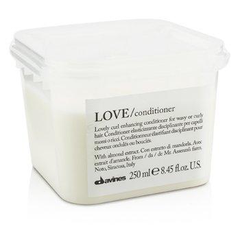 Davines Condicionador Lovely Curl Enchancing Love - Para Cabelos Cacheados e Encaracolados (Nova Embalagem)  250ml/8.45oz