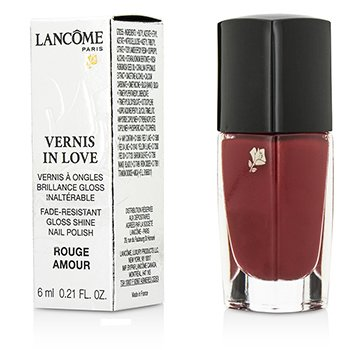 Lancome Vernis In Love Nail Polish - # 160N Rouge Amour  6ml/0.21oz