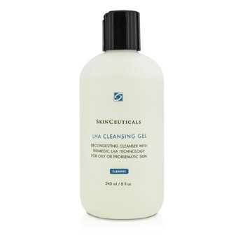 Skin Ceuticals LHA Cleansing Gel (Unboxed)  240ml/8oz