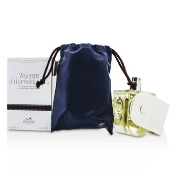 Hermes Voyage D'Hermes Eau De Toilette Spray (Chevon Canvas Edición Limitada)  100ml/3.3oz