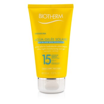 Biotherm Gel Solar Humectante Ultra Ligero SPF15 (Aquagelee)  150ml/5.07oz