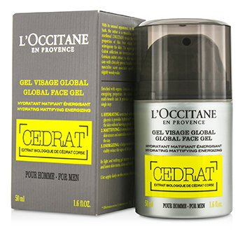 L'Occitane Cedrat Global Gel Facial  50ml/1.6oz