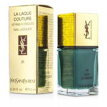 Yves Saint Laurent La Laque Couture Esmalte U�as - # 36 Vert D'Orient  10ml/0.34oz
