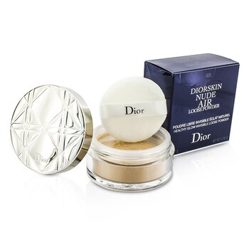 Christian Dior Diorskin Nude Air Healthy Glow Polvo Volátil Invisible - # 020 Light Beige  16g/0.56oz