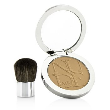 Christian Dior Diorskin Nude Air Healthy Glow Invisible Powder (With Kabuki Brush) - # 030 Medium Beige  10g/0.35oz