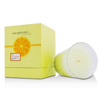 Exceptional Parfums Lumânare Parfumată - Orange Ginger  250g/8.8oz