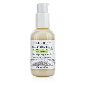 Kiehl's Damage Repairing & Rehydrating Leave-In Treatment (For Damaged, Very Dry Hair)  75ml/2.5oz