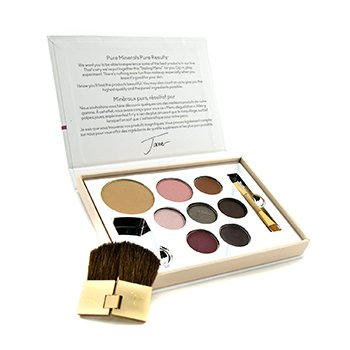 Jane Iredale Color Sample Kit - Medium Dark (1xPressed Foundation, 1xBlush, 1xConcealer, 3xEye Shadow, 1xLipstick, 1xLip Gloss,...)