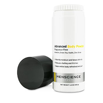 Menscience Advanced Body Powder - Bedak Badan  100g/3.4oz