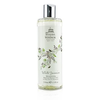 Woods Of Windsor White Jasmine Moisturising Bath & Shower Gel  350ml/11.8oz