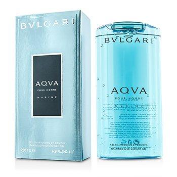 Bvlgari Aqva Pour Homme Marine šampon i gel za tuširanje  200ml/6.8oz