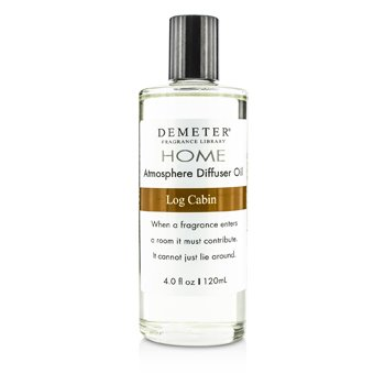 Demeter น้ำมันหอม Atmosphere Diffuser Oil - Log Cabin  120ml/4oz