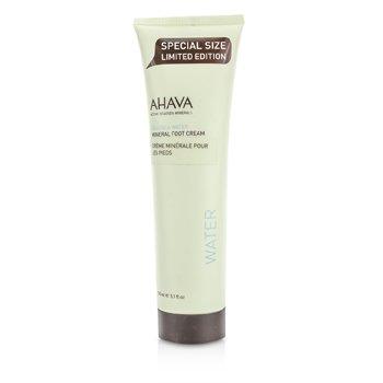 Ahava Deadsea Water Crema Mineral Pies  150ml/5oz