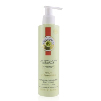 Roger & Gallet Fleur d' Osmanthus Revitalising Sorbet Body Lotion (with Pump)  200ml/6.6oz