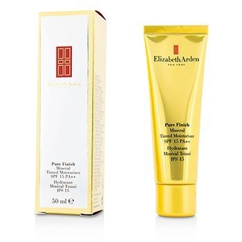 Elizabeth Arden مرطب خفيف معدني Pure Finish SPF15 - رقم 04 غامق  50ml/1.7oz