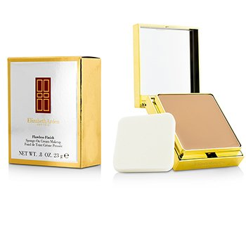 Elizabeth Arden Flawless Finish Sponge On Cream Makeup (Estojo Dourado) - 09 Honey Beige  23g/0.08oz