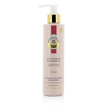 Roge & Gallet Rose Body Lotion (with Pump)  200ml/6.6oz