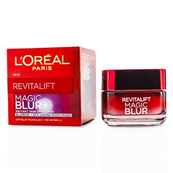 L'Oreal มอยซ์เจอไรเซอร์ RevitaLift Magic Blur - Blurring & Anti-Aging Moisturiser  50ml/1.7oz