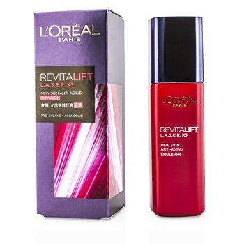 L'Oreal Revitalift Laser x3 - New Skin Anti-Aging Emulsion  125ml/4.23oz