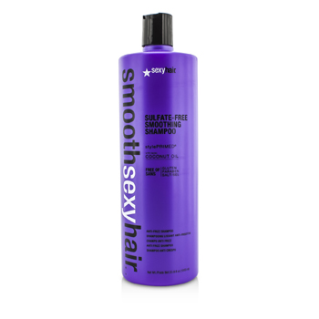 Sexy Hair Concepts Smooth Sexy Hair Şampon Catifelant Fără Sulfaţi (Anti-Electrizare)  1000ml/33.8oz