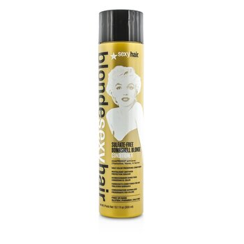 Sexy Hair Concepts Blonde Sexy Hair Sulfate-Free Bombshell Blonde Conditioner (Daily Color Preserving)  300ml/10.1oz