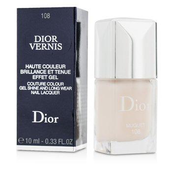 Christian Dior Dior Vernis Moda Renkte Jel Parlaklığı ve Uzun Süre Kalıcı Oje - # 108 Muguet  10ml/0.33oz