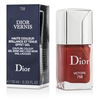 Christian Dior Esmalte Dior Vernis Couture Colour Gel Shine & Long Wear - # 758 Victoire  10ml/0.33oz