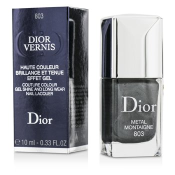Christian Dior Dior Vernis Couture Colour Gel Shine & Long Wear Nail Lacquer - # 803 Metal Montaigne  10ml/0.33oz