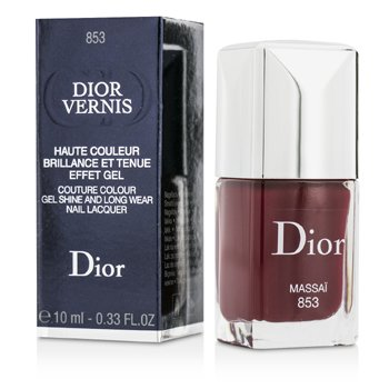 Christian Dior Dior Vernis Couture Colour Gel Shine & Long Wear Nail Lacquer - # 853 Massai  10ml/0.33oz