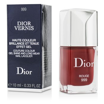 Christian Dior Dior Vernis Couture Esmalte Uñas Larga Duración Brillo Gel - # 999 Rouge  10ml/0.33oz