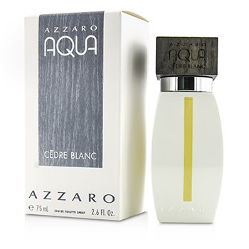 Azzaro Aqua Cedre Blanc Eau De Toilette Spray  75ml/2.6oz