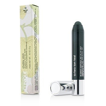 Clinique Sombra em Bastão Chubby Stick Shadow Tint for Eyes - # 13 Two Ton Teal  3g/0.1oz