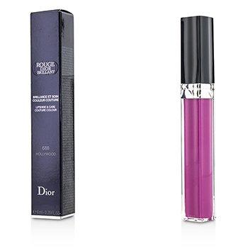 Christian Dior Rouge Dior Brillant Lipgloss - # 688 Hollywood  6ml/0.2oz