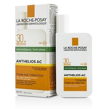 La Roche Posay Krem na dzień z filtrem UV Anthelios AC 30 Anti-Shine Matte Fluid SPF 30 - For Oily To Acne-Prone Skin  50ml/1.69oz