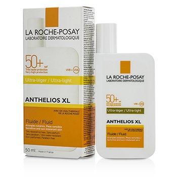 La Roche Posay Krem na dzień z filtrem UV Anthelios XL 50 Ultra-Light Fluid SPF 50+ - For Sensitive & Sun Intolerant Skin  50ml/1.69oz