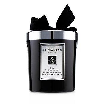 Jo Malone Świeca zapachowa Oud & Bergamot Scented Candle  200g (2.5 inch)