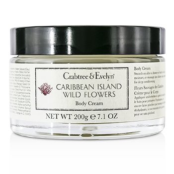 Crabtree & Evelyn Caribbean Island Wild Flowers Crema Corporal  200g/7.1oz