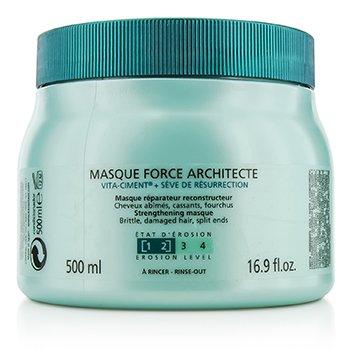 卡詩  Resistance Force Architecte Reconstructing Masque (For Brittle, Very Damaged Hair, Split Ends)  500ml/16.9oz