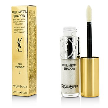 Yves Saint Laurent Full Metal Color Ojos - #02 Eau Dargent  4.5ml/0.15oz