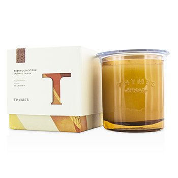 Thymes Świeca zapachowa Aromatic Candle - Rosewood Citron  284g/10oz