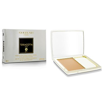 Guerlain Terracotta Sun Protection Compact Foundation SPF 20 - # Sand  8g/0.28oz