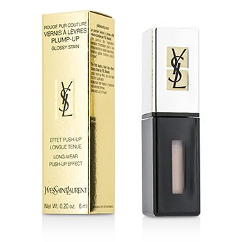 Yves Saint Laurent Rouge Pur Couture Vernis a Levres Color Brillo Engrosador - #200 Rose Nu  6ml/0.2oz