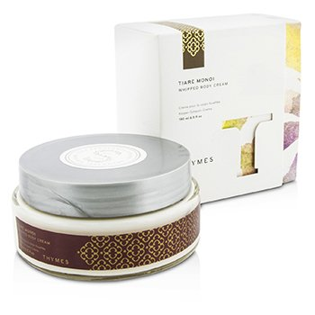 Thymes Tiare Monoi Whipped Body Cream - Krim Tubuh  190ml/6.5oz