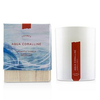Thymes Świeca zapachowa Aromatic Candle - Olive Leaf  255g/9oz